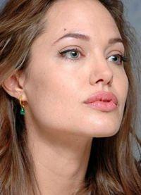 Angelina Jolie, fără machiaj 1