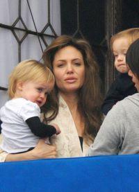 Angelina Jolie, fără machiaj 7