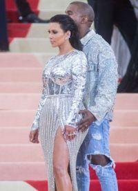 Kim și Kanye la Institutul costum Ball 2016