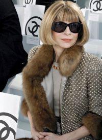 Anna este considerată o pictogramă de stil în lumea modei