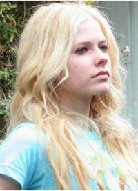Avril Lavigne a face fără a ridica 1