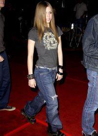 Avril Lavigne fără make-up 5