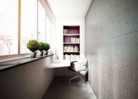 Интересные идеи отделки балконы9