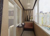 Барная стойка на балконе -5