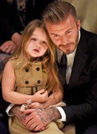 Дэвид с дочерью очень близки