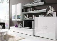 Белая мебель для гостиной9