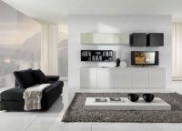 Белая мебель для гостиной10