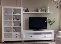 Белая мебель для гостиной1