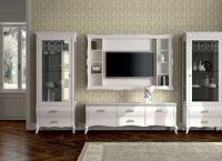 Белая мебель для гостиной2