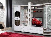 Белая мебель для гостиной5
