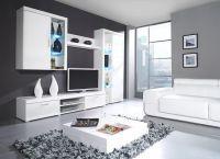 Белая мебель для гостиной6