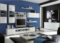 Белая мебель для гостиной7
