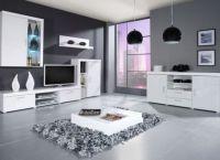 Белая мебель для гостиной8
