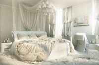 Белая мебель для спальни 7