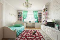 Белая мебель в интерьере9