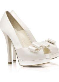 Белые туфли на свадьбу 1