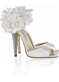 Белые туфли на свадьбу 3