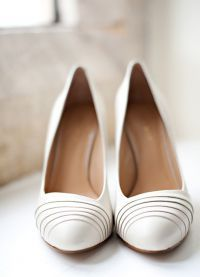 Белые туфли на свадьбу 5