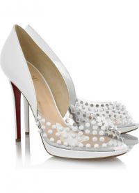 Белые туфли на свадьбу 6