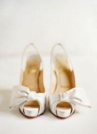 Белые туфли на свадьбу 9