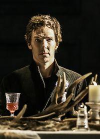 После монолога Шекспира, актер обратился к зрителям с речью, которую закончил не