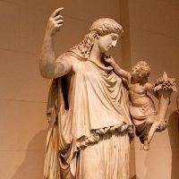 Бог богатства у греков