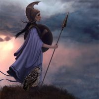 Богиня минерва