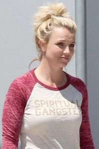 Britney Spears fara machiaj 2