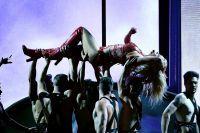 Акробатические элементы с танцорами