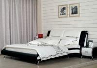 дизайн спальни черно белый 3