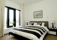 спальня в черно белых тонах 3