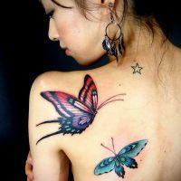 Что означает тату бабочка?