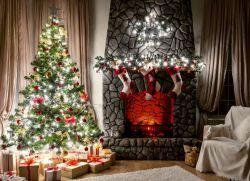 декоративные новогодние светильники