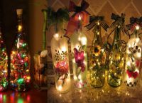 декоративные новогодние светильники1