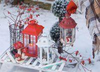 декоративные новогодние светильники5