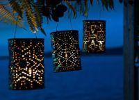 декоративные новогодние светильники7