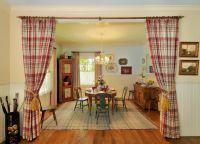 Декоративные шторы на дверной проем10