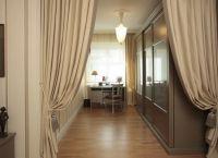 Декоративные шторы на дверной проем12
