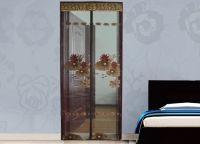 Декоративные шторы на дверной проем15