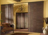 Декоративные шторы на дверной проем1