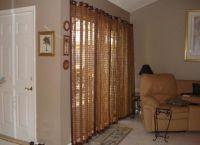 Декоративные шторы на дверной проем3
