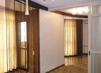 Декоративные шторы на дверной проем4
