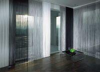 Декоративные шторы на дверной проем5