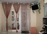 Декоративные шторы на дверной проем6