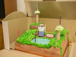 День рождения в стиле Майнкрафт