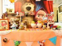 День рождения в стиле «Маша и Медведь»5