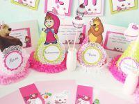 День рождения в стиле «Маша и Медведь»6
