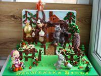 День рождения в стиле «Маша и Медведь»9