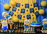 День рождения в стиле миньонов5