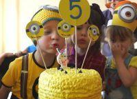 День рождения в стиле миньонов6